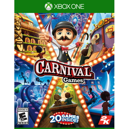Carnival Games, 2K, Xbox One, 710425594762 - Carnaval Games