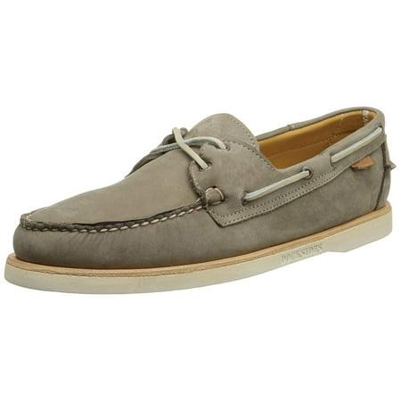 Sebago Men's Crest Docksides Dark Taupe Boat Shoe