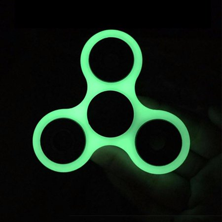 LED Glow Premium Fidget Focus Spinner Toy for Stress Relief, ADHD, Anxiety & Rave/EDM