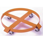 Wesco 240089 27 in. Drum Dollies Hard Rubber by Wesco