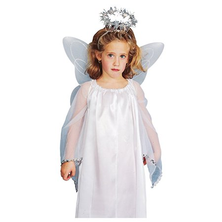 Angel Wings and Halo Accessory Kit Child](Halloween Angel Wings And Halo)