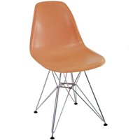 Modern Contemporary Kitchen Dining Side Chair Orange