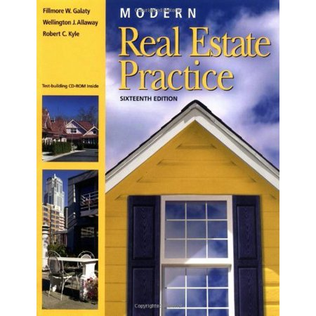 Modern Real Estate Practice By Fillmore W Galaty