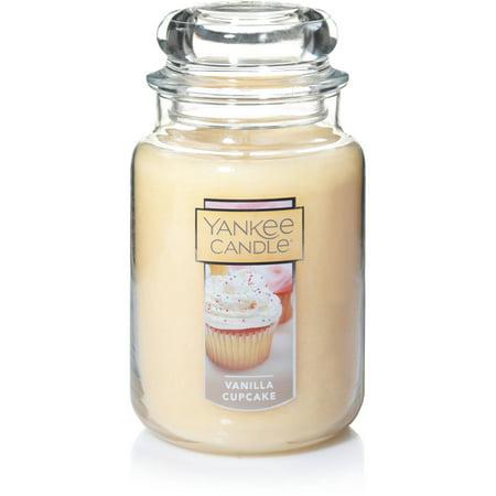 Yankee Candle Large Jar Candle, Vanilla Cupcake