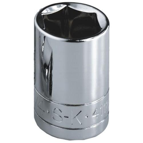 """Sk Professional Tools 1/4"""" Drive, 7/8"""", Socket, Alloy Steel, 40905"""