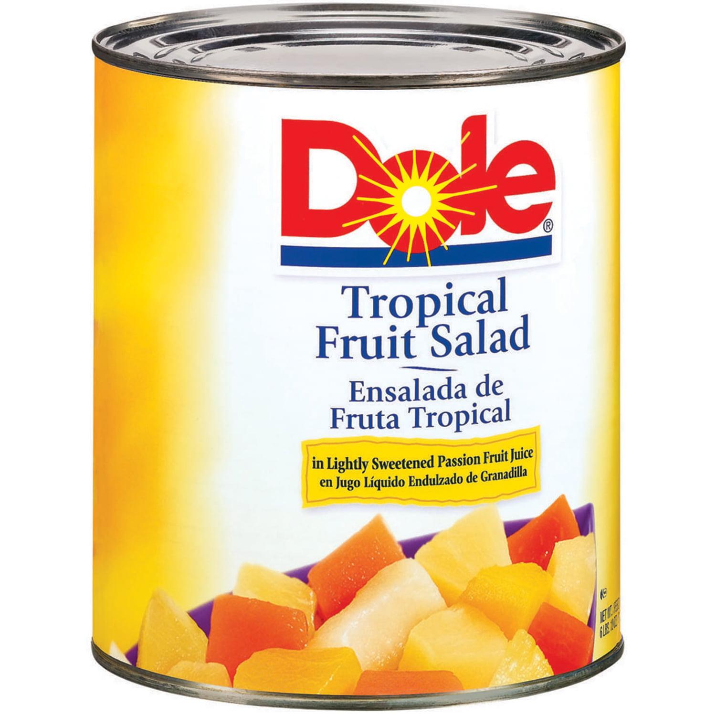 dole tropical fruit salad 106 oz can ebay
