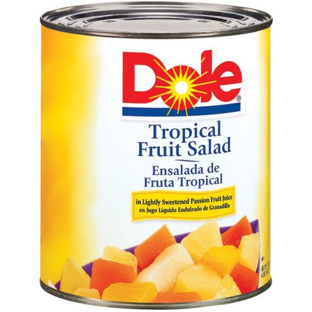 Dole Tropical Fruit Salad, 106 oz