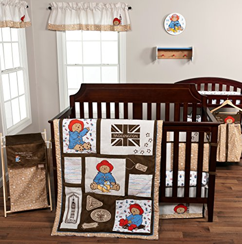 Trend Lab Paddington Bear 3 Piece Crib Bedding Set
