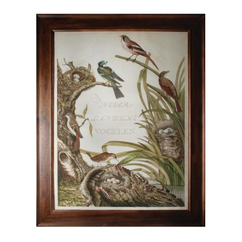 "Sterling Industries 10208-S1 47"" x 37"" Art Prints - Sanctuary For Birds"