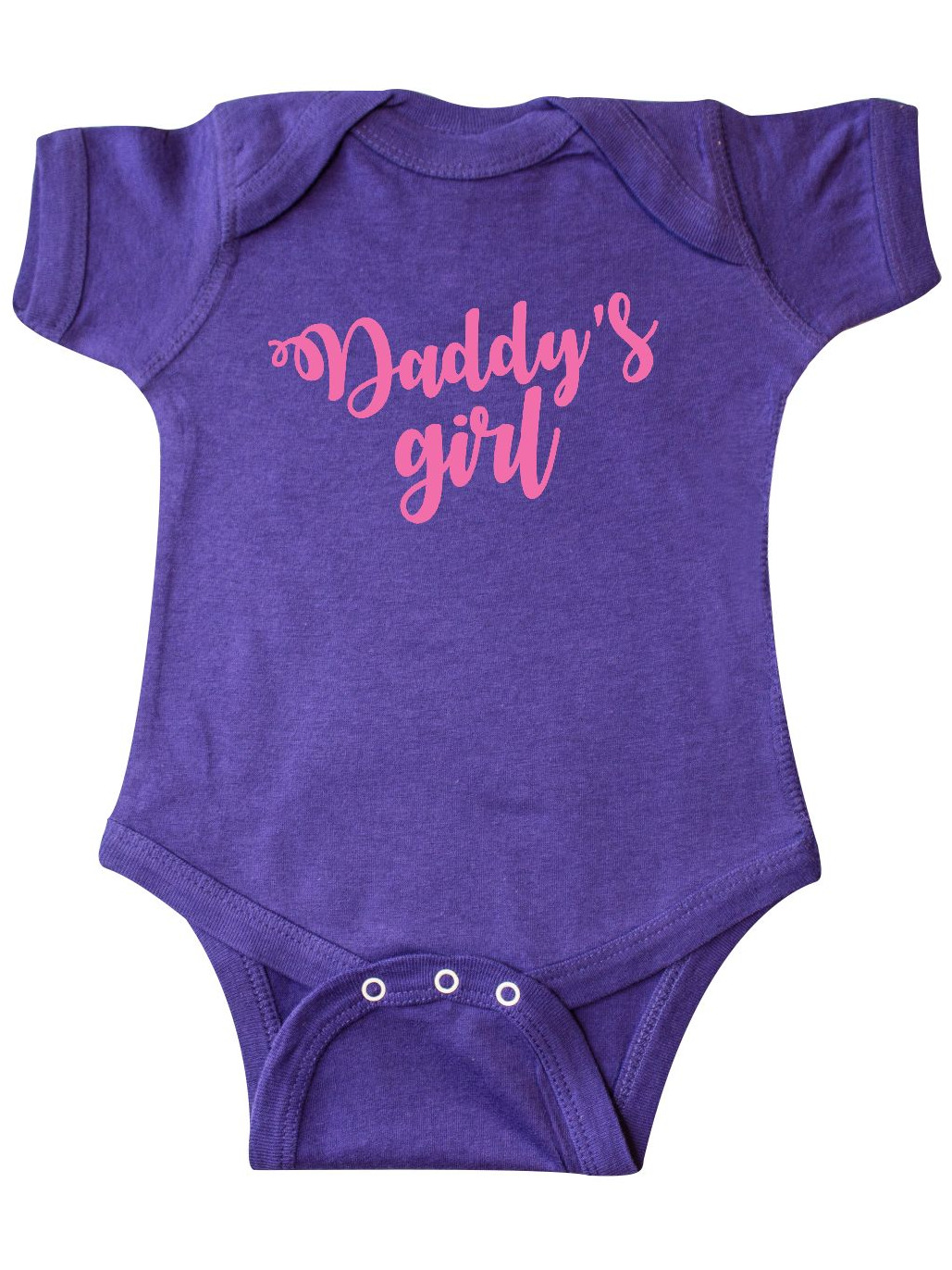 inktastic Valentines Day Daddys Girl Infant Creeper