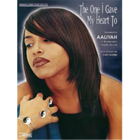 Alfred 00-Pv97161 One I Gave My Heart To-Pvc Aaliyah Book - image 1 of 1