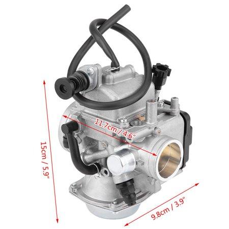 Sonew Carburetor Carb, Carburetor for TRX300 Fourtrax,Carburetor Carb Fits for Honda TRX300 300 Fourtrax 1988-2000 - image 5 of 12