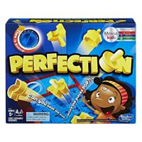 Perfection Game, Time is ticking -- beat the clock before the pieces pop By Hasbro