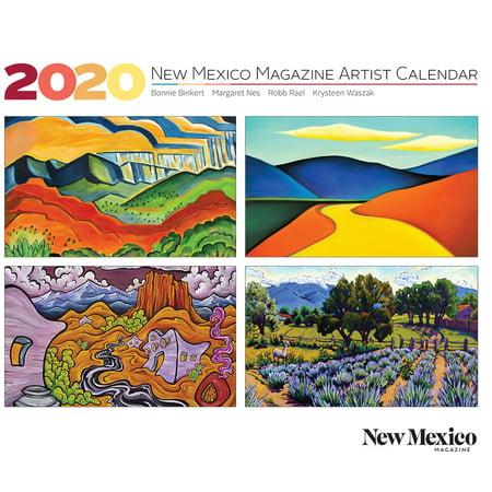 2020 New Mexico Magazine Artist Calendar (Other) Artist Workshop Magazine
