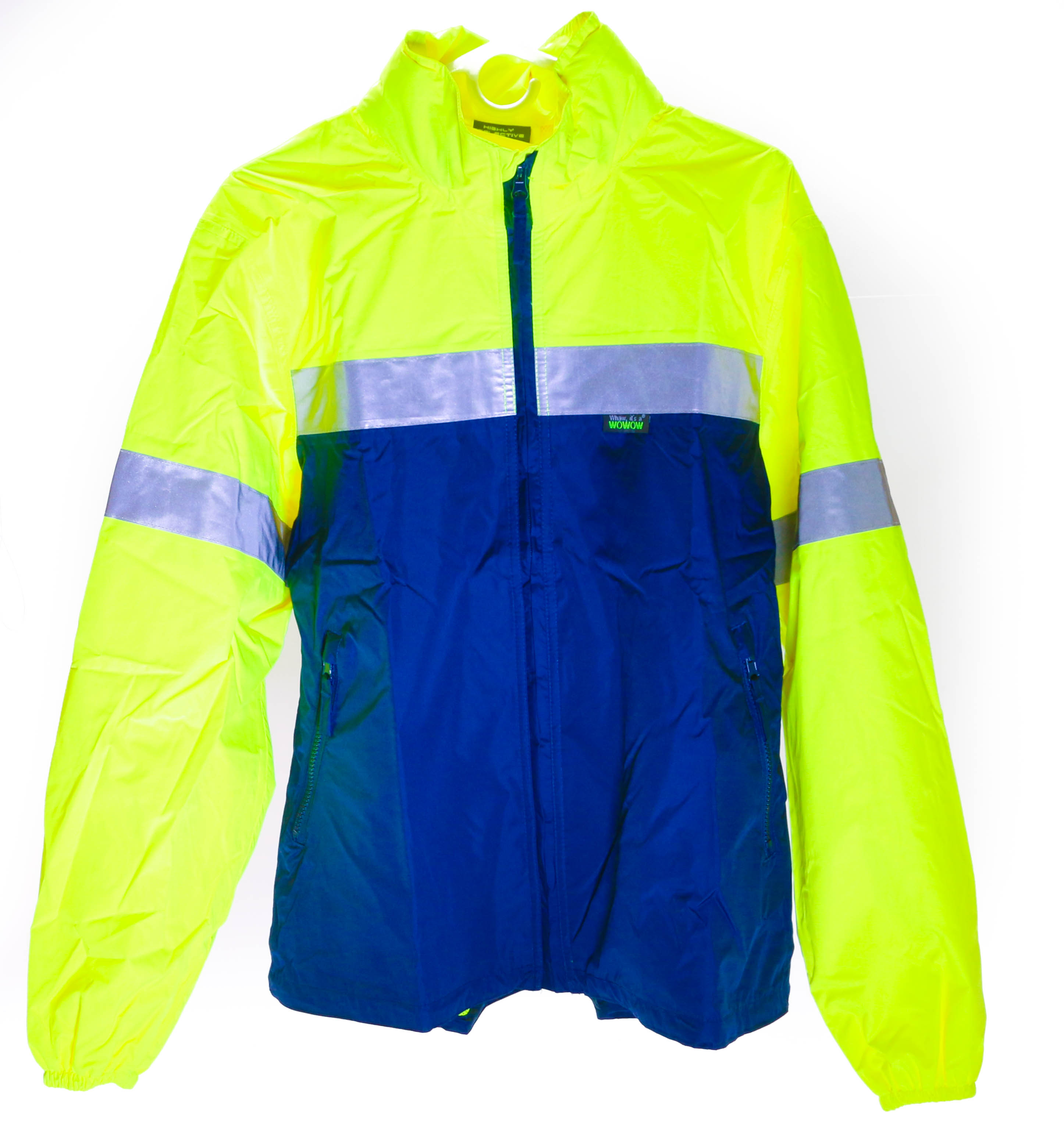 WOWOW Reflective RW-840 Small Bike Cycling Outdoor Rain Jacket Waterproof New by