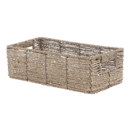 Mainstays 2PK Seagrass Basket Mainstays 2PK Seagrass Basket Set