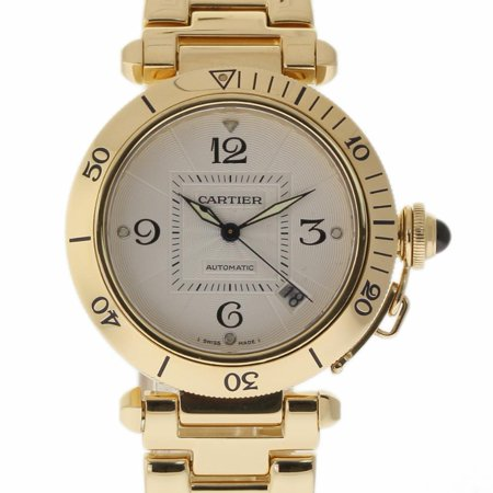 Cartier Pasha 2392 Gold  Watch (Certified Authentic & Warranty)