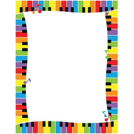 Trend Enterprises Inc. T-11414 Colorful Keyboard Paper