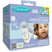 Lansinoh - Breast Milk Storage Bags 100ct, BPA-Free