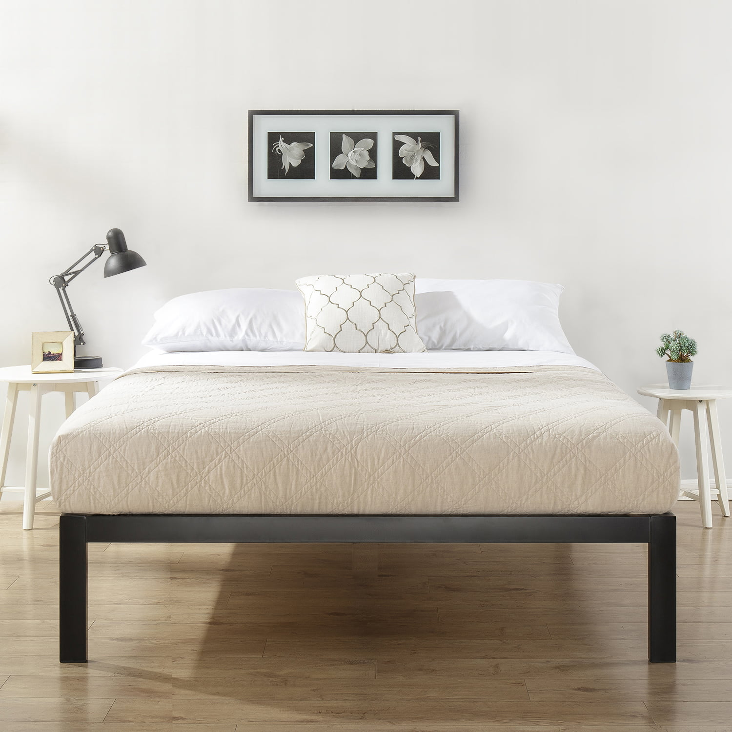 Mainstays Metal Platform Bed Frame, Multiple Sizes by Zinus Inc