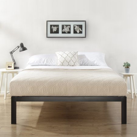 Mainstays Metal Platform Bed, Multiple Sizes (Cowhide Platform)