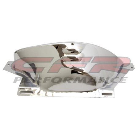 CFR HZ-9587-C Steel Chevy & Gm Turbo Th-700R4 Flywheel Inspection Cover - Chrome Chrome Plated Flywheel Cover