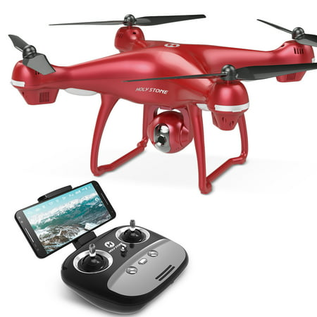 Holy Stone GPS FPV RC Drone HS100 with Camera Live Video 1080P HD and GPS Return Home Quadcopter with Adjustable Wide-Angle WIFI Camera Follow Me, Altitude Hold, Intelligent Battery Long Control (Best Quadcopter With Camera Reviews)