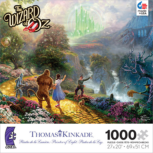 Thomas Kinkade The Wizard of Oz 1000 Piece Puzzle