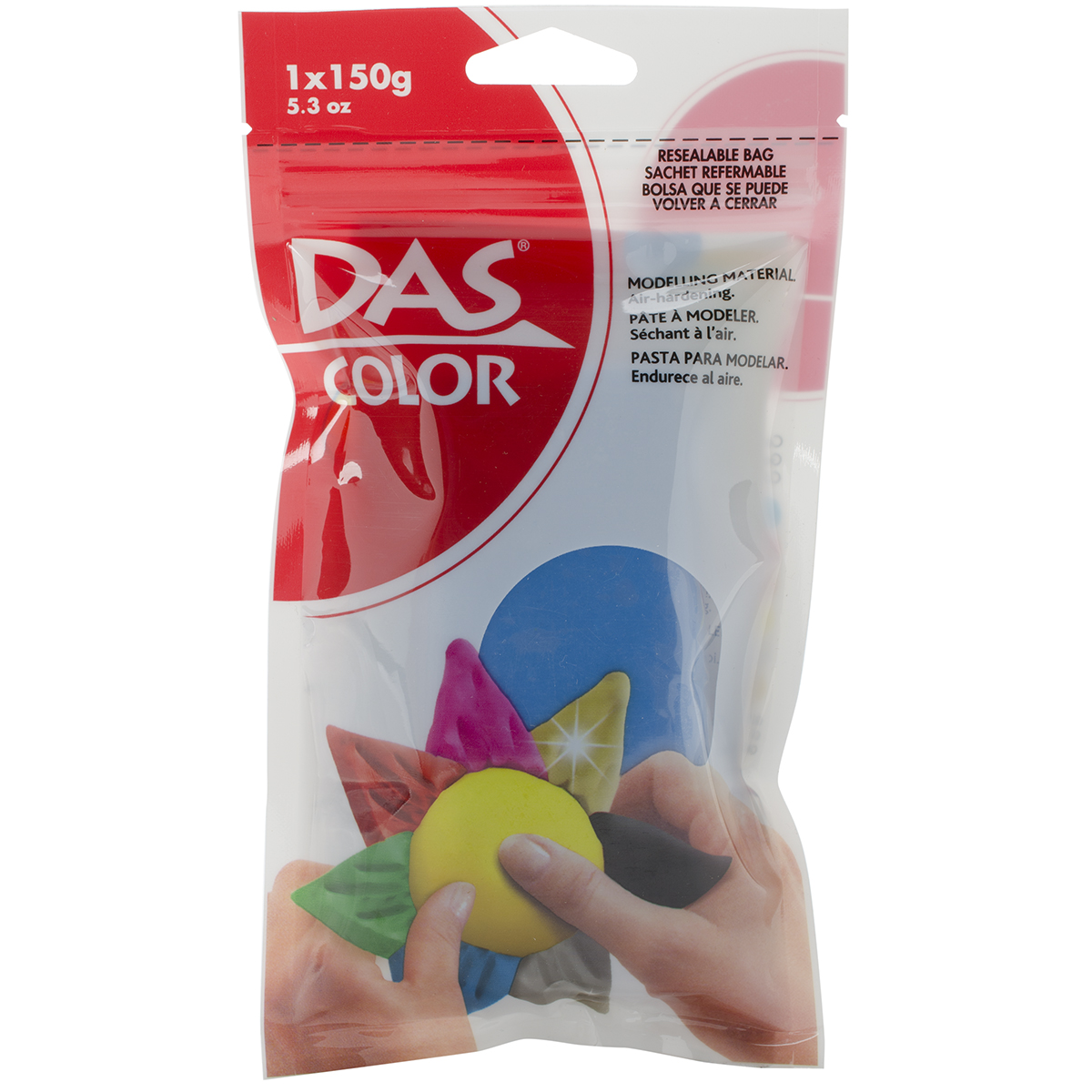 DAS Color Air-Dry Clay 5.3oz-Turquoise