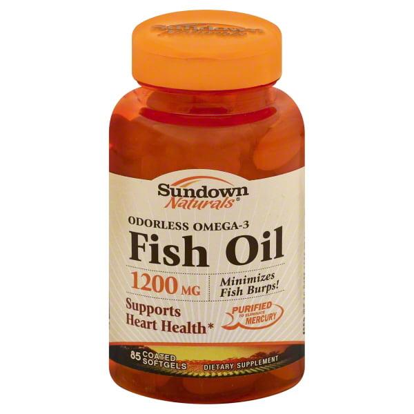 Sundown Naturals Organic Flaxseed Oil 1200mg Softgels For Heart Health, 60 Ea