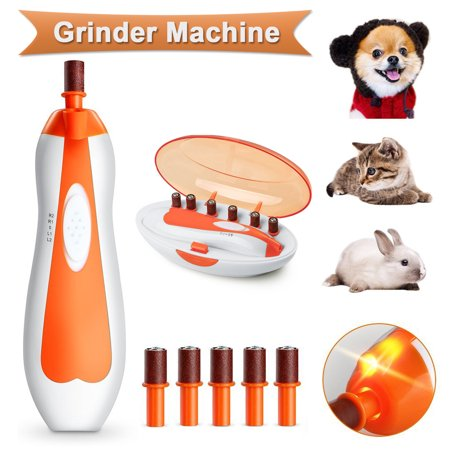 Adjustable Speeds Electric Pet Nail Grinder Grooming Trimmer Clipper Dog Cat Claw  - image 3 of 8