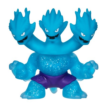 Heroes of Goo Jit Zu Water Blast, 1-Pack Action Figure, Ultra Rare Hydra the Dragon