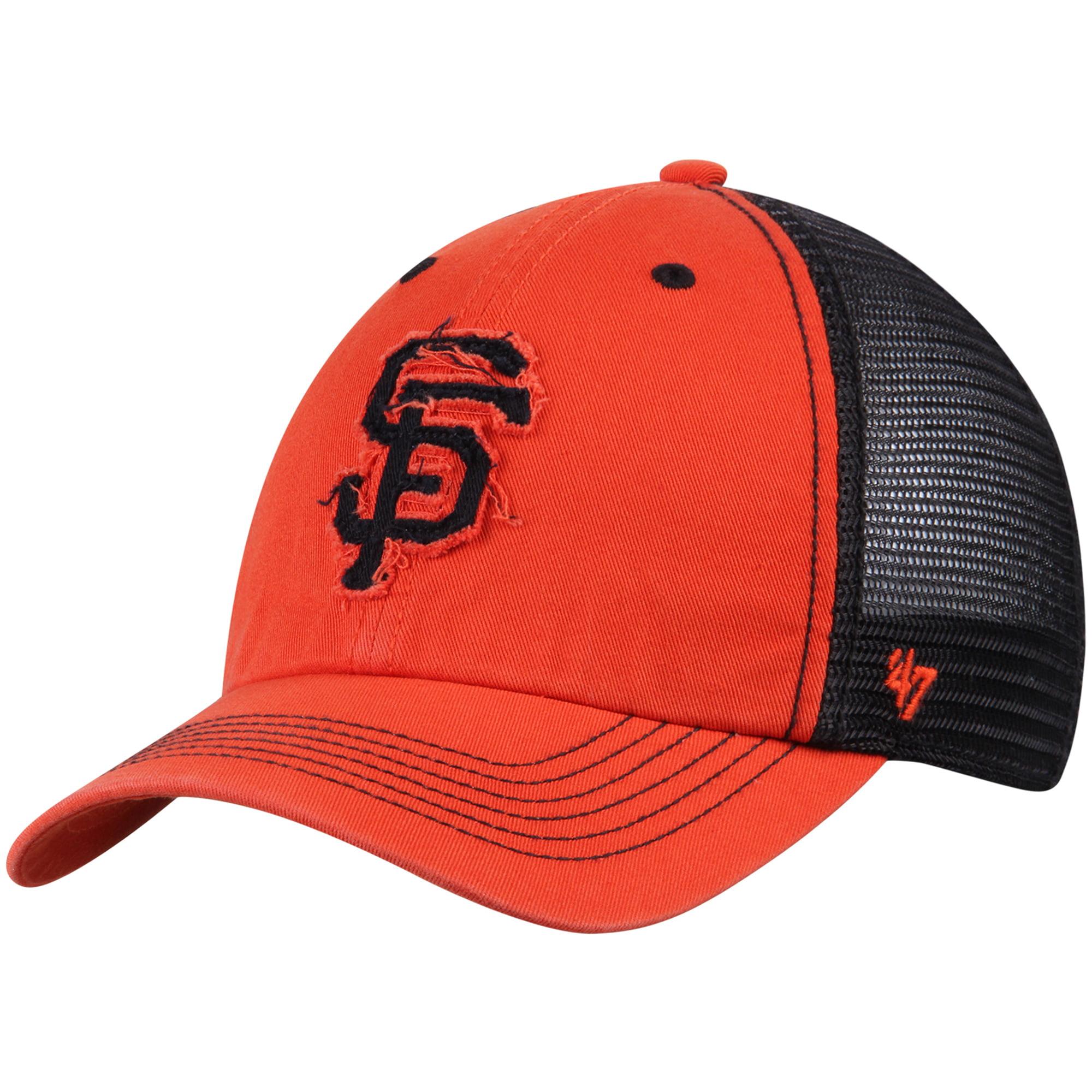 San Francisco Giants '47 Taylor Closer Flex Hat - Orange/Black