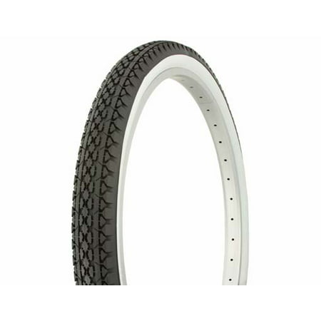 "Tire Duro 26"" x 2.125"" Black/White Side WallHF-133. Bicycle tire, bike tire, beach cruiser bike tire, cruiser bike tire"