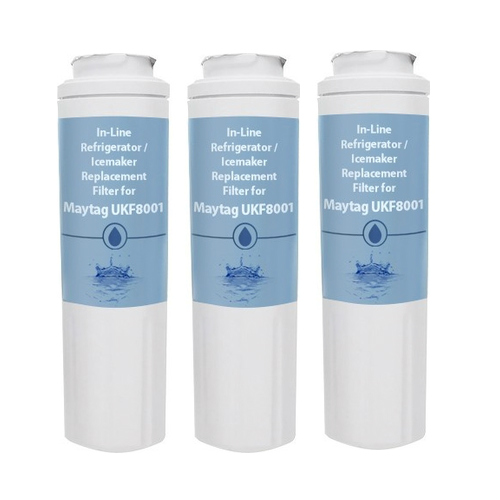 Replacement Water Filter for Maytag MFI2269VEM2 Refrigerators (3 Pack)