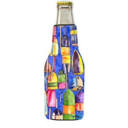 Beer 12 Oz Bottle Label (Lobster Bouys Longneck Beer bottle sleeve Hugger With Zipper - 12 oz. )