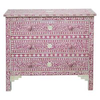 CDI International Furniture Aida 3 Drawer Chest