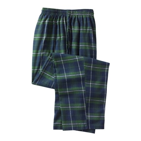 Kingsize Men's Big & Tall Flannel Plaid Pajama Pants (Plaid Pants Mens)