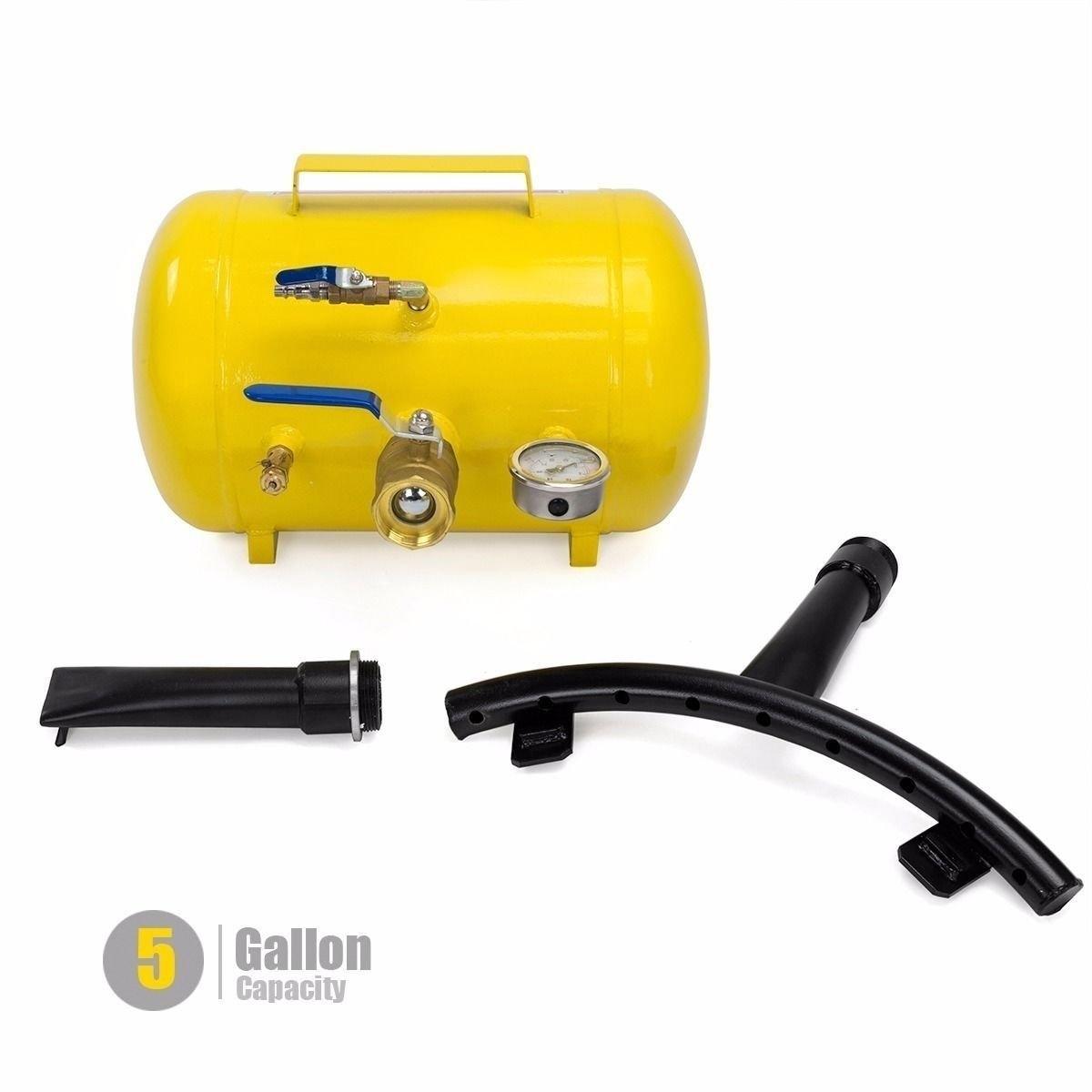 New MTN-G rapid pump 5 Gallon Air Bead Seater Tire Tool B...