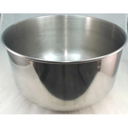Sunbeam, Oster, Stand Mixer Mixing Bowl, 4.6 Quart, SS, 144700-000-000