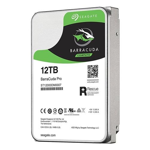 Seagate BarraCuda Pro 12TB 7200RPM SATA 256MB HDD