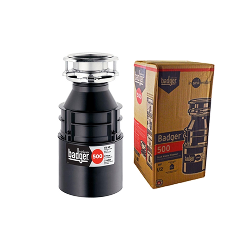 InSinkErator Badger 500 1/2 HP Continuous Feed Quiet Heavy-Duty Garbage Disposal