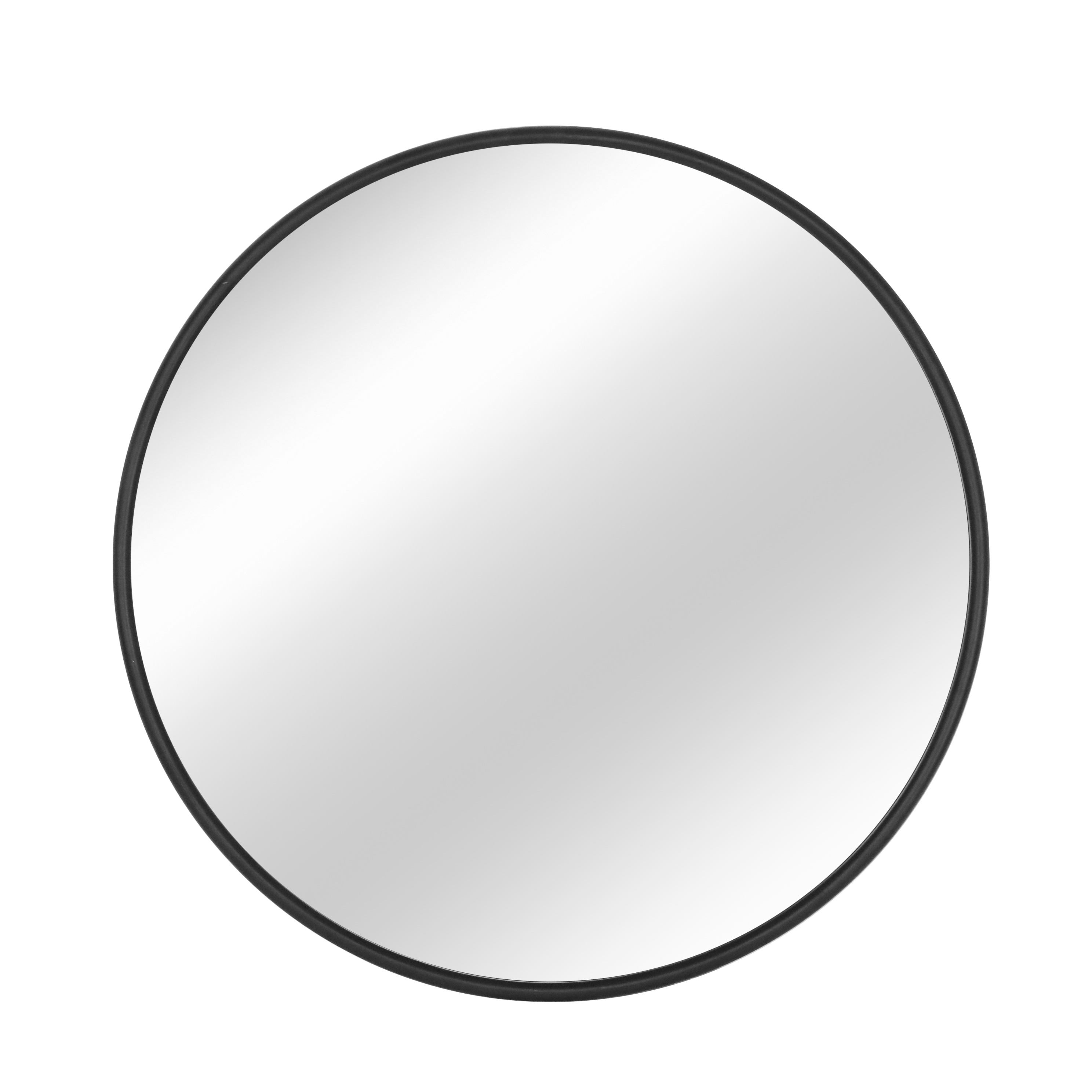 Doingart Wall Mirror Make Up Round Mirror Vanity Mirror Circle Wall Mirror W Metal Silver Frame For Bedroom Bathroom Entry Dining Room Living Room 31 5in Silver Walmart Com Walmart Com