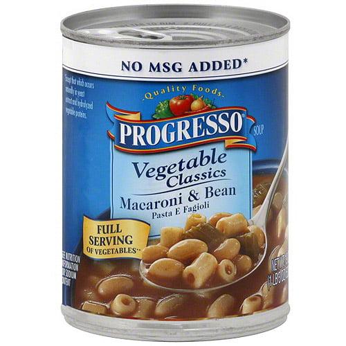 Progresso Macaroni & Bean Soup, 19 oz (Pack of 12)