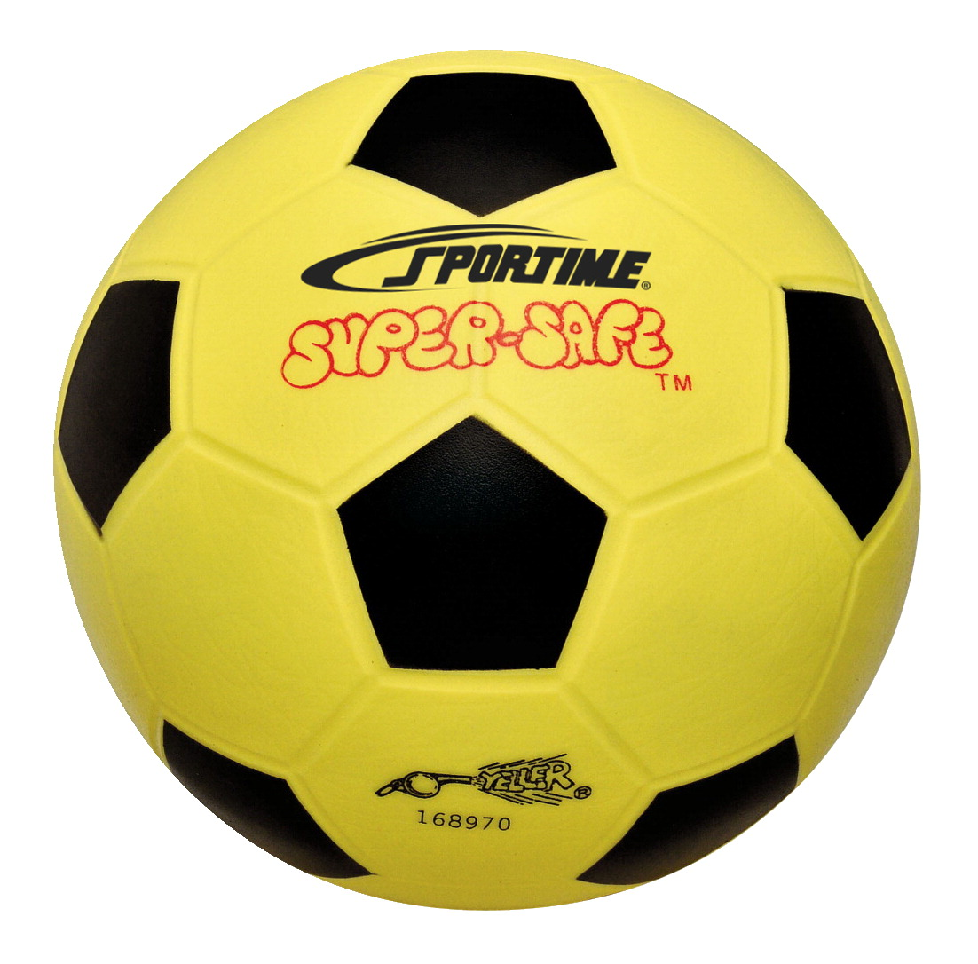 Sportime Super-Safe Soccer Ball, 8""