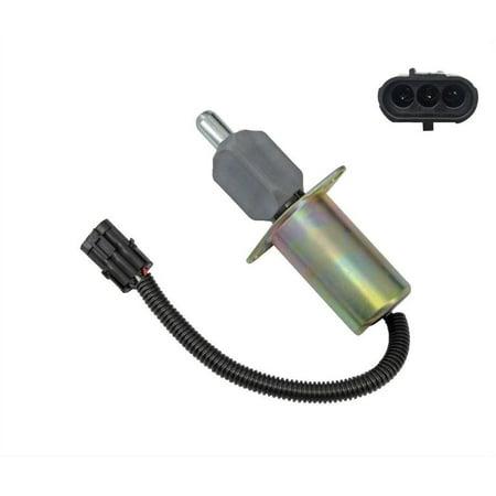 - 3921978 Fuel Shutdown Shut Off Solenoid Valve Fit For Cummins 6CT/6CTA 12V USA!