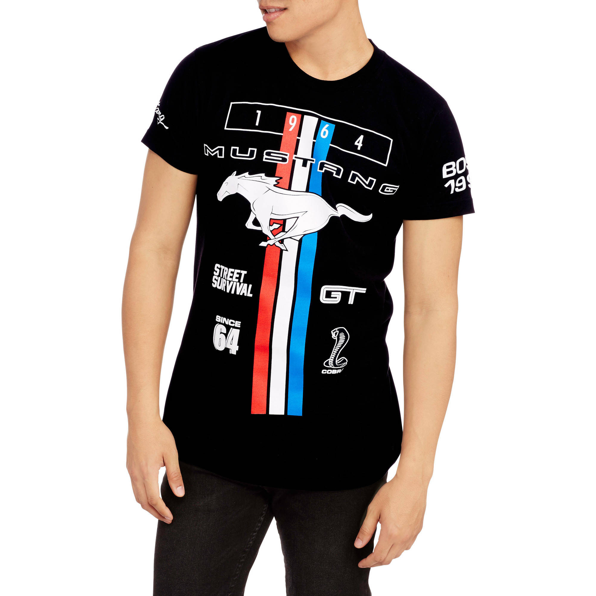 Men's ford mustang 64 short sleeve graphic tee