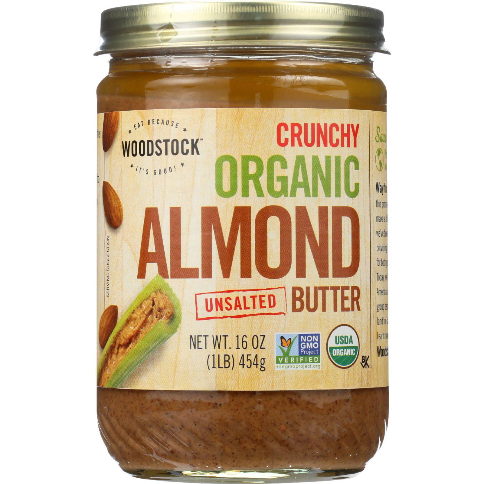 Woodstock organic almond butter