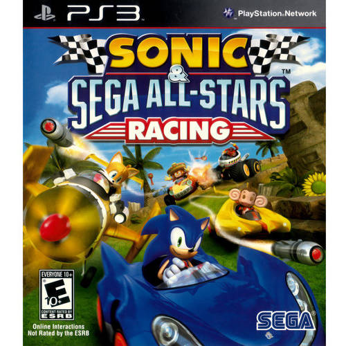 Sonic All Star Racing  (PS3) - Pre-Owned