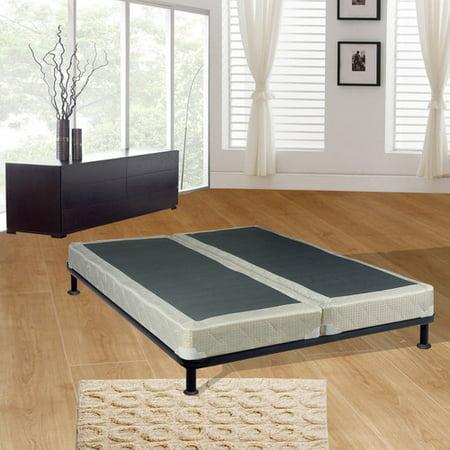spinal solution full split wood box spring. Black Bedroom Furniture Sets. Home Design Ideas